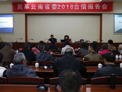 云南:2018年度台情报告会