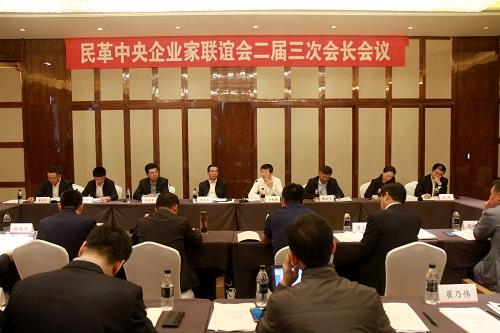 民革中央企业家联谊会二届三次会长会议召开
